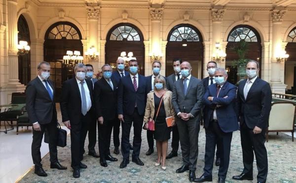 Paris : les directeurs de palaces de l'UMIH à la rencontre des députés