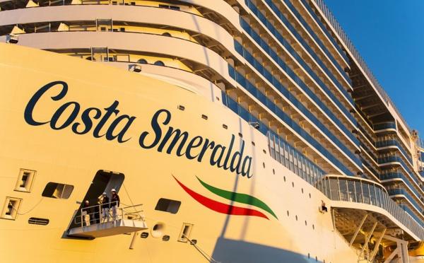 Le Costa Smeralda reprend ses croisières depuis Savone