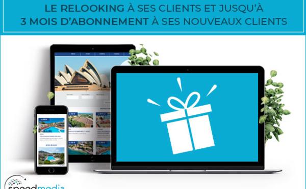 SpeedMedia offre le relooking à ses clients et jusqu'à 3 mois d'abonnement à ses nouveaux clients !