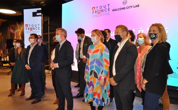 """10 lauréats pour l'appel à candidatures """"solutions touristiques innovantes post-Covid-19"""""""