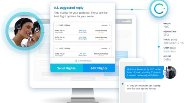 IA : Amex GBTravel rachète la start-up 30SecondsToFly