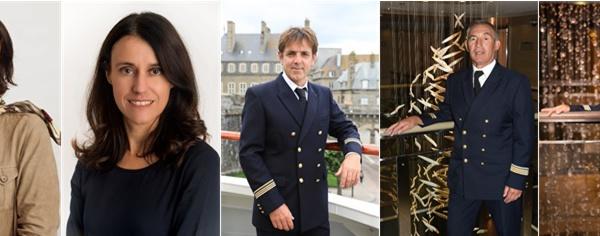 Ponant : 5 collaborateurs faits Chevaliers du Mérite Maritime