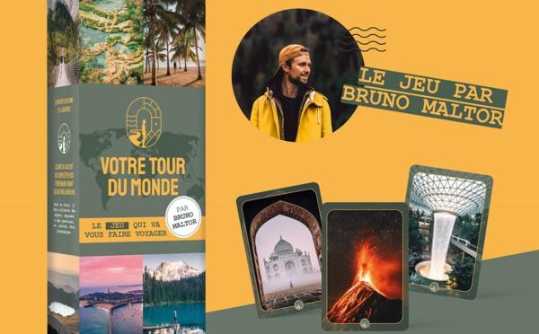 """Bruno Maltor nous explique son jeu de société """"Votre tour du monde"""" !"""