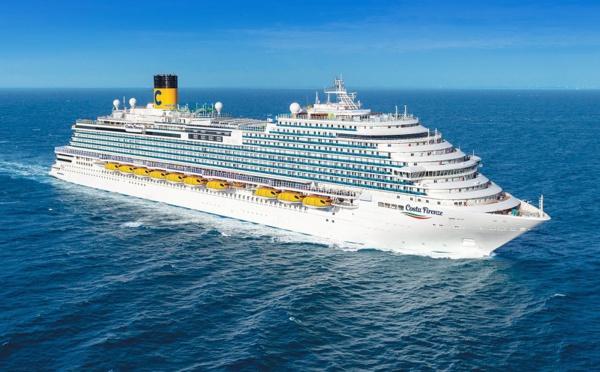 Costa Croisières a pris livraison de son nouveau navire, le Costa Firenze