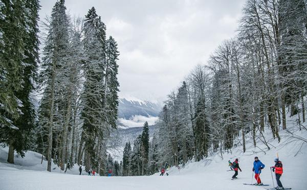 Skier dans la vallée de la Tarentaise à Méribel