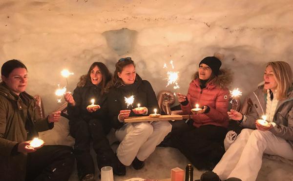 Une soirée sous un igloo : mettez-vous dans la peau d'un inuit !