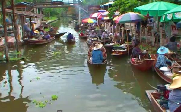 Voyagez en Thaïlande : I. Chiang Maï et le marché flottant de Tha Kha