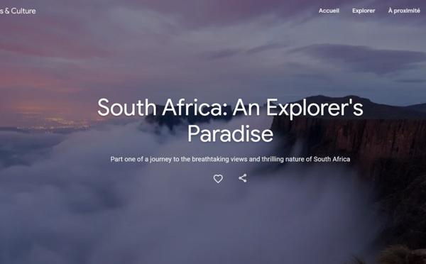 Google et South African Tourism lancent une plateforme pour explorer l'Afrique du Sud