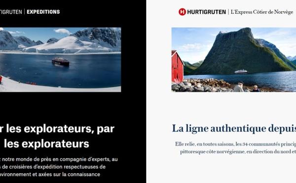 "Hurtigruten présente 2 nouvelles marques dont ""Hurtigruten Expéditions"""