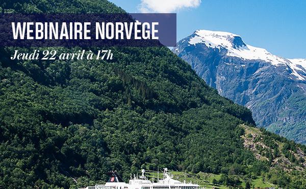 Hurtigruten : webinaire sur la ligne de l'Express Côtier le 22 avril 2021