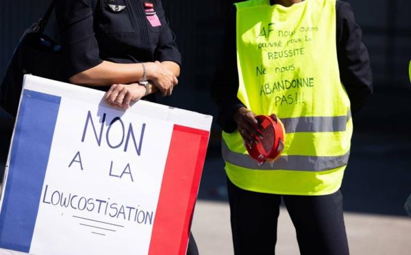 Aéroport de Toulouse: rassemblement à venir contre le projet de fermeture des bases de province d'Air France
