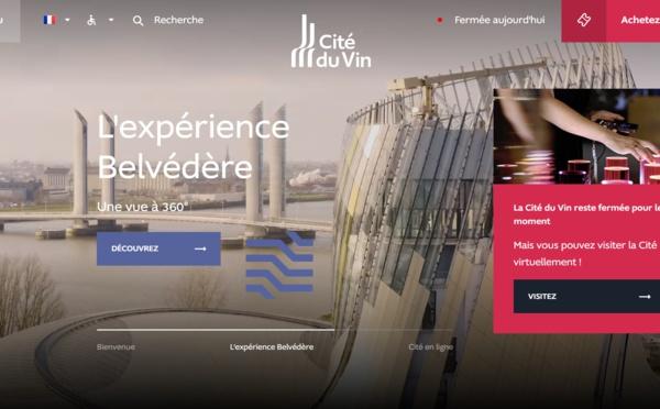 Le nouveau site de la Cité du Vin propose des visites virtuelles et une série de Podcasts !