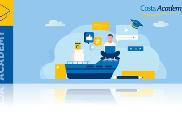 Formation Costa Croisières : déjà 4 modules disponibles dans la « Costa Academy »