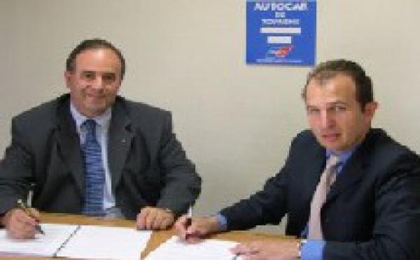 Autocars de tourisme : partenariat avec Scania Bus France