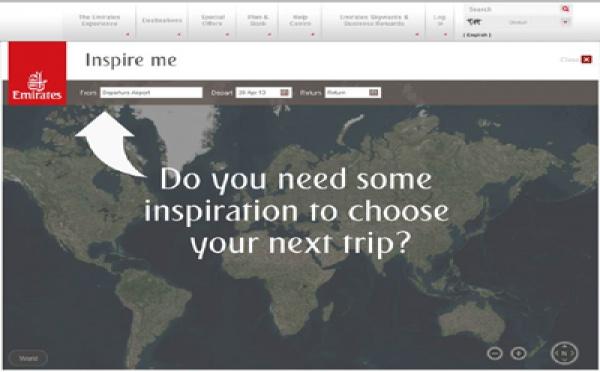 Emirates Inspire Me : la technologie pour inspirer