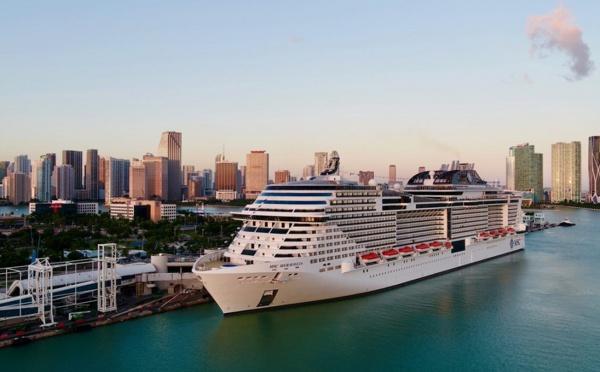 Etats-Unis : MSC Croisières repartira des ports américains dès le 2 août 2021