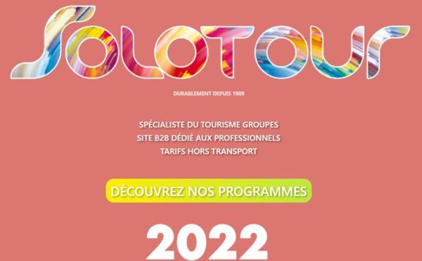 Solotour sort sa nouvelle brochure groupe 2022