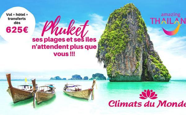 Phuket, ses plages et ses îles n'attendent plus que vous !
