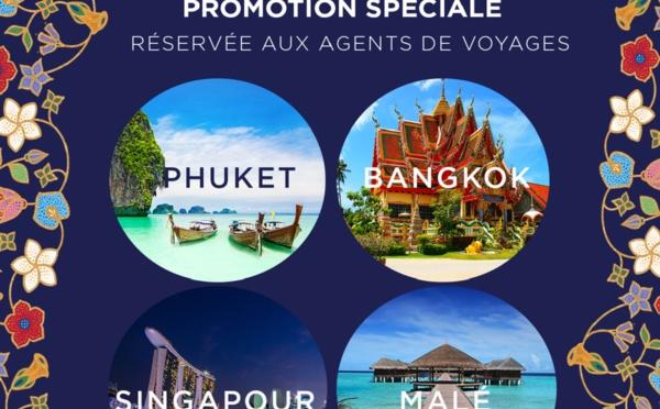 Thaïlande, Singapour, Maldives : offre spéciale agent de voyages !