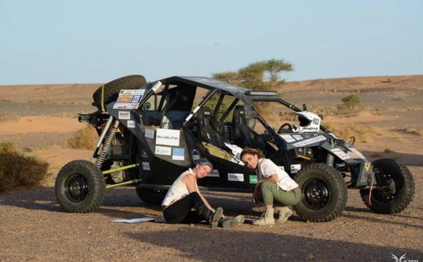 Rallye-Raid Aïcha des Gazelles : Aïe aïe aïe… casse mécanique ! Mais ça repart...