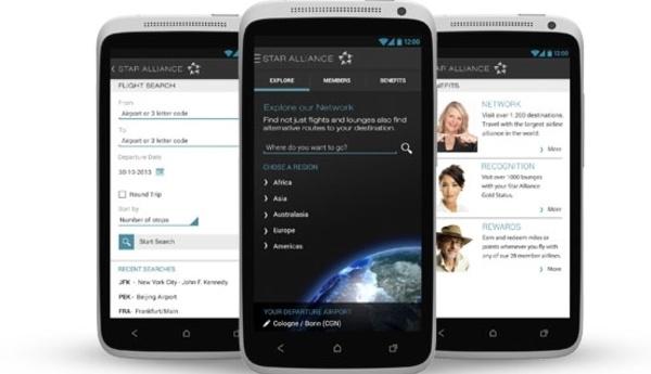 L'application Star Alliance disponible sur Android