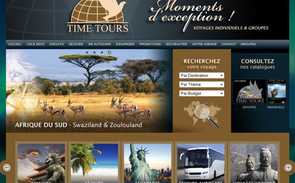 Time Tours atteint le cap des 20 M€ de chiffre d'affaires