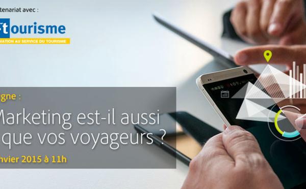 Séminaire en ligne Adobe et i-tourisme : Votre marketing est-il aussi mobile que vos voyageurs ?