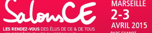 SalonsCE à Marseille le 2 et 3 avril 2015