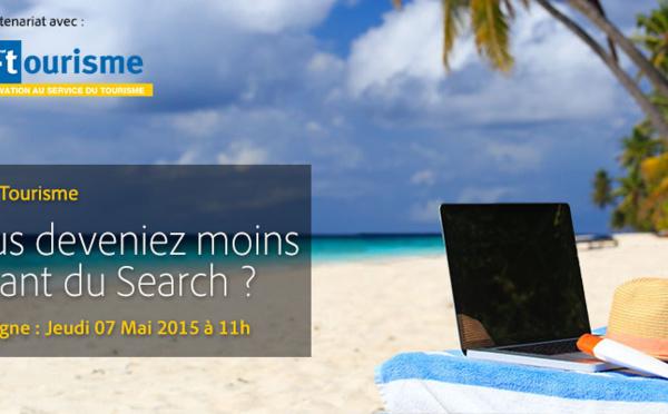 Séminaire en ligne Adobe et i-tourisme : Et si vous deveniez moins dépendant du Search ?