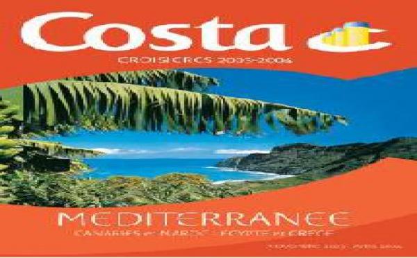 Costa Croisières : record historique des résa 2003