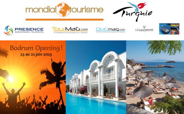 """Mondial Tourisme : Bodrum c'est """"Party"""" !"""