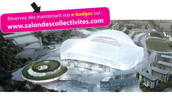 Marseille : le Salon des Collectivités au Vélodrome le 10 septembre 2015
