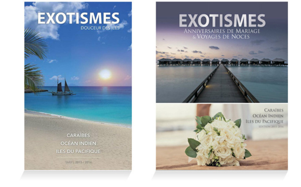 Nouvelles brochures Exotismes Hiver 2015-2016