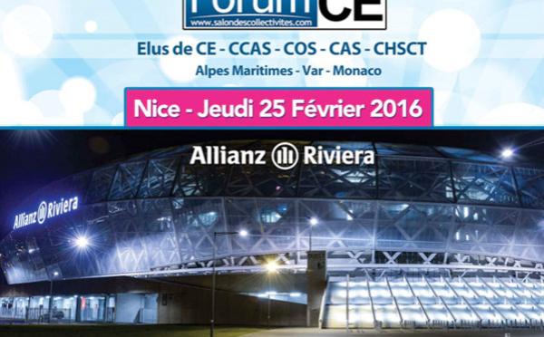 Nice : la Salon des CE et des Collectivités à l'Allianz Riviera le 25 février 2016