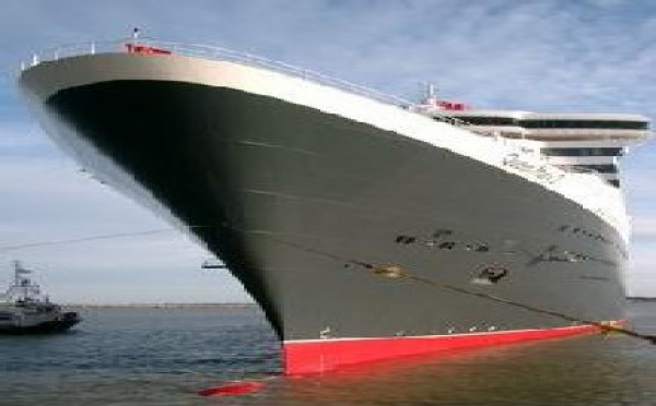 Le Queen Mary 2 fait route vers la Floride