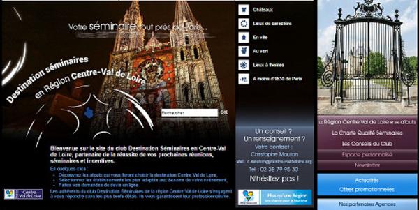 Centre-Val de Loire : le CRT confie sa représentation MICE à Interface MICE