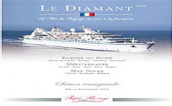 Tapis Rouge Croisière : La brochure générale du Diamant est disponible