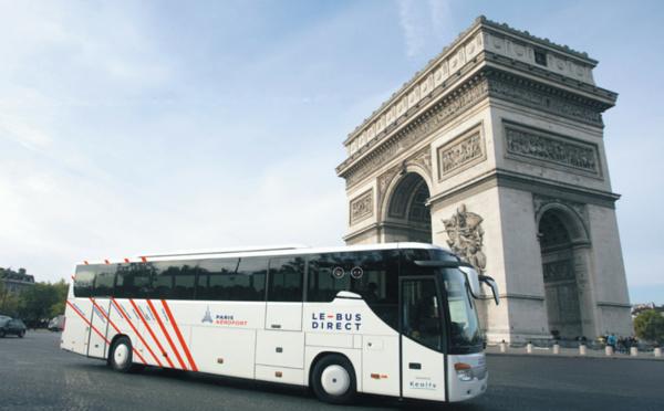 Des bus haut de gamme pour les aéroports parisiens