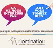 Nomination à la pointe de l'information BtoB