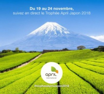 Trophée April 2018 : destination le pays du soleil levant
