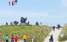 Sainte-Marie-du-Mont Utah Beach. Mémorial US Navy. Photo T. Houyel - CDT.