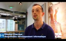Interview de Clément Chartaud, Responsable développement Informatique TUI France (c) Johanna Gutkind