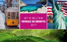 La couverture de la brochure 2017 de Nationaltours Groupes - DR : Nationaltours Groupes
