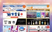 Le site BonplanCE.com propose des produits dans le voyage, les loisirs, la maison, l'électroménager, ou encore la beauté - Capture écran
