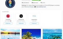 Le compte Instagram de Selectour - Capture d'écran