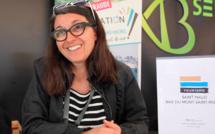 Interview de Virginie Lizion de L'OT de Saint-Malo Baie du Mont Saint-Michel (c) Johanna Gutkind