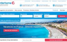 Interhome est une plateforme de location de vacances en ligne - Capture d'écran