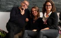 L'équipe de direction de Travel Team, avec, de gauche à droite : James Uzan (P-DG)  Amélie Lacombe (directrice du service groupes) et Mélody Thiebaut (DG) - DR : Travel Team