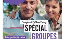 Couverture de la brochure Groupes 2018 de l'OT de Béthune-Bray - DR : OT de Béthune-Bray