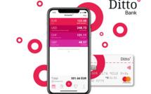 Au sein de son interface mobile, l'utilisateur peut créer de multiples comptes dans différentes devises, tous liés à une unique carte Gold Mastercard, lui permettant d'effectuer paiements, retraits et virements partout dans le monde, sans frais supplémentaires.  - DR